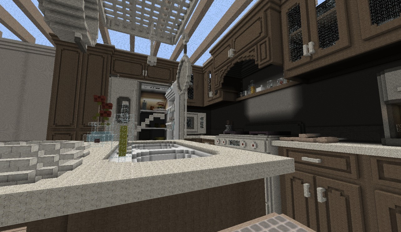 Great cheese map for minecraft file for Dining room designs minecraft