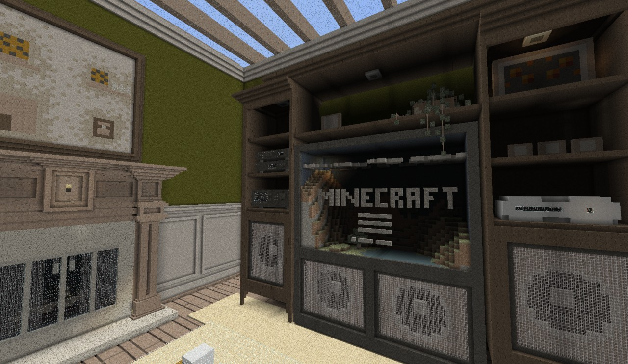 Minecraft Living Room Great Cheese Map File Minecraftcom