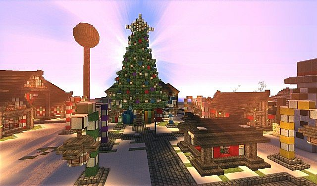 The North Pole - Santa's Secret Village Map for Minecraft - File ...