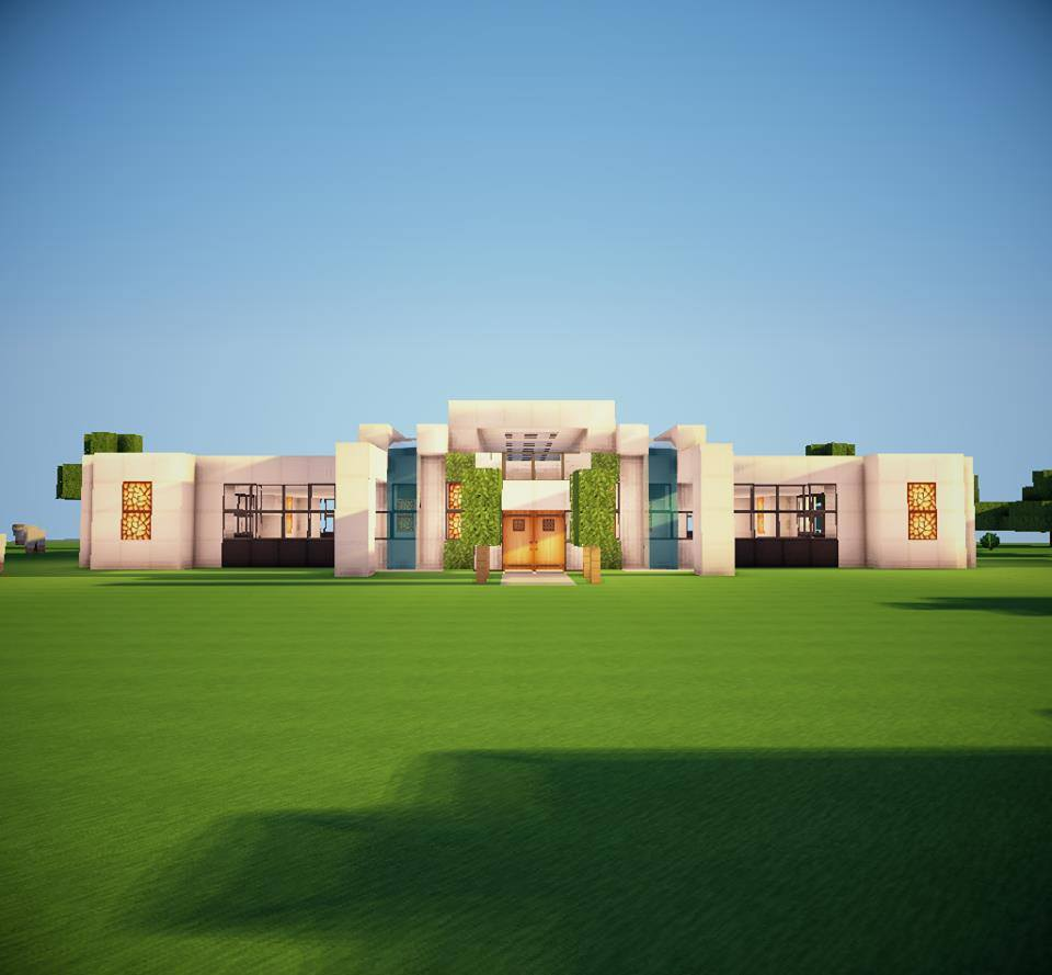 Modern house by kenyukicreations map for minecraft file for Minecraft modern house 9minecraft