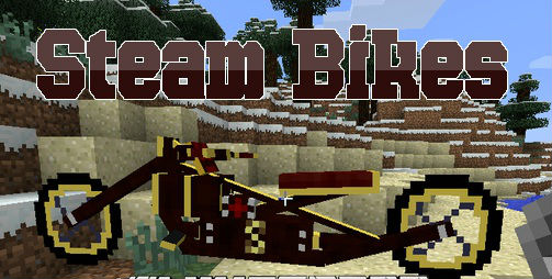 Animal Bikes Mod Minecraft 1.7.10 Steam Bikes Mod