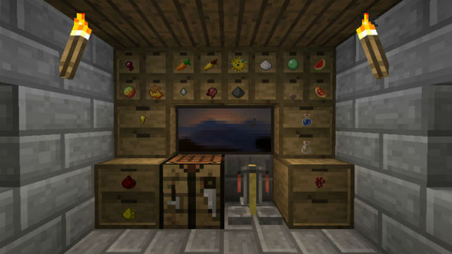 Storage Drawers Mod 1.11.2