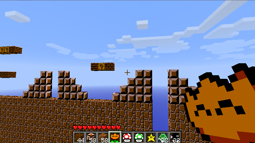 Super mario [1. 7. 2] for minecraft.
