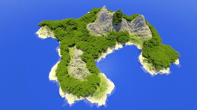 Tropical Island Map For Minecraft File