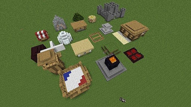 how to build a boxing ring in minecraft pe
