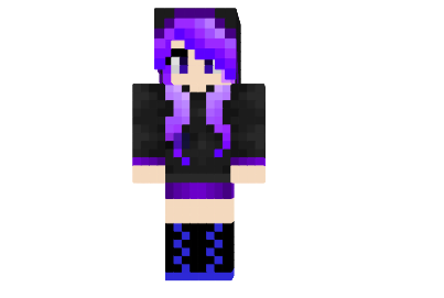 Enderman Girl Skin File Minecraftcom