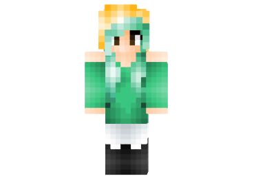Female Headbanger Skin FileMinecraftcom - Skins para minecraft pe greninja