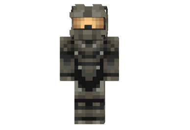 Gray Soldier Halo Skin Minecraft FileMinecraftcom - Skins para minecraft pe halo