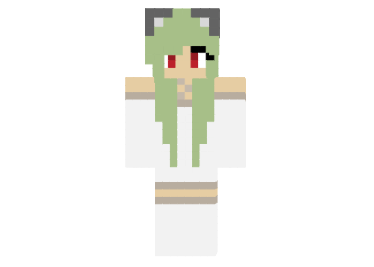 Kawaii Neko Girl Skin FileMinecraftcom - Skin para minecraft pe kawaii