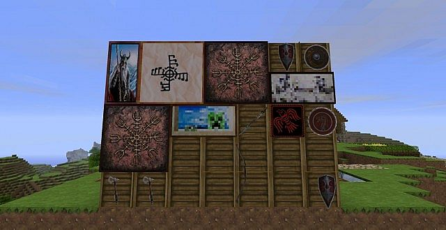 Enzo S Viking Texture Pack File Minecraft Com