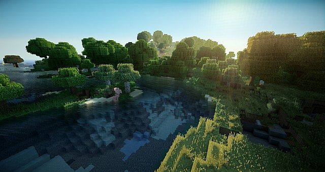 Photorealistic Minecraft! Shaders + HD Texture Pack ...