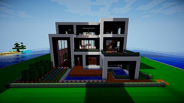 Modern Architecture House Minecraft modern architect texture pack - file-minecraft