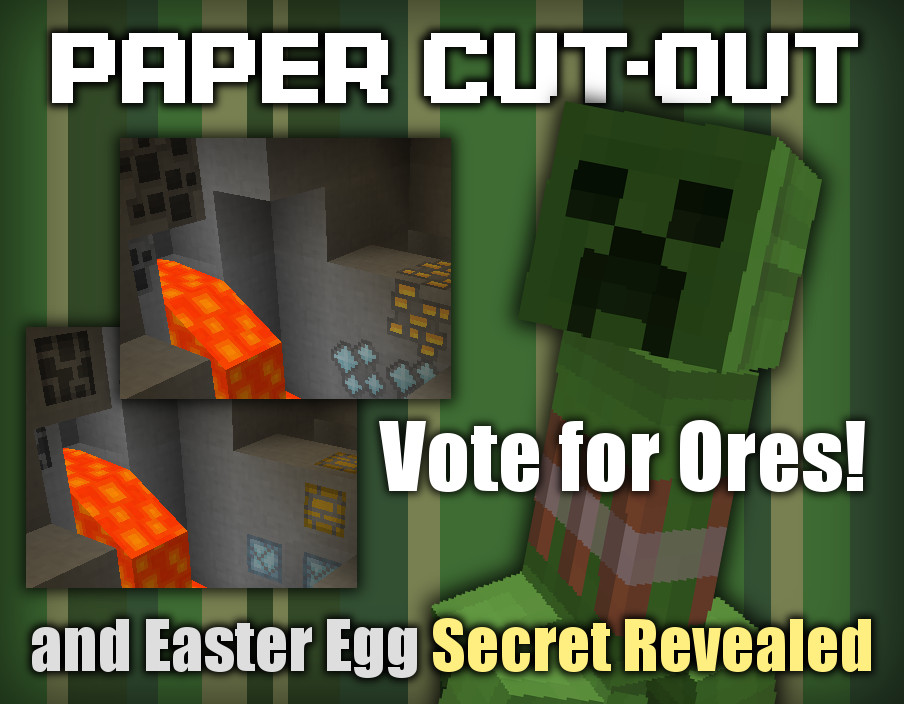 Paper Cut Out Resource Pack 1 11 2 1 10 2 1 9 4 1 8 9 File Minecraft Com